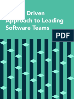 Data Driven Approach to Leading Software Teams