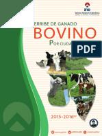 Derribe de Ganado 2015-2016