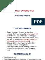 Diagnosis Banding Iugr