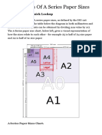 A Paper Sizes - A0, A1, A2, A3, A4, A5, A6, A7, A8, A9, A10