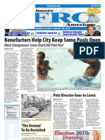 Baltimore Afro-American Newspaper, August 14, 2010
