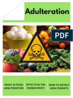 food adulteration brochure