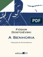 (Coleção Leste) Fiódor Dostoiévski-A senhoria-Editora 34 (2011).epub