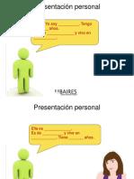 Ppt Presentacion Personal