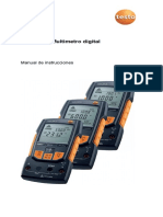 Testo-760 - Manual - Multimetro Digital.pdf