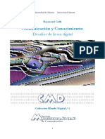 Comunicación y Conocimiento-Desafíos de La Era Digital-(2 Archivos)