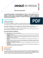 Commission permanente Région Réunion