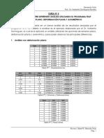 Comparaciones diferentes modelos FEM en FEAP
