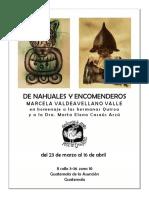 Marcela Valdeavellano, De Nahuales y Encomenderos, Galería Rocío Quiroa, 2017 Online