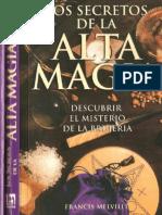 Los Secretos de La Alta Magia - Francis Melville