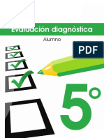 5° EVALUACION DIAGNOSTICA SANTILLANA