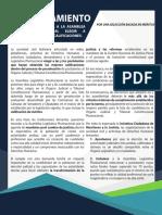 Pronunciamiento Público - La Sociedad Civil solicita a la Asamblea Legislativa Plurinacional elegir a postulantes con mejores calificaciones