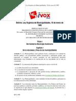 3 - BO-L-696 - Ley Orgánica de Municipalidades