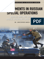 Developments in Russian Special Operations