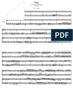 W. a. Mozart Fuge Fur Zwei Pianoforte K. 426