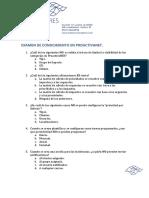 Examen ConocimientoProactivaNET V5.0
