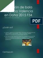 Lanzamiento de Bala Mauricio Valencia en Doha 2015