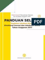 Panduan UI Incubate 2017
