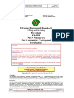 PR-1708 - Lifting and Hoisting Procedure Part 1 Framework, Part 2 Inspection, Testing and Certification