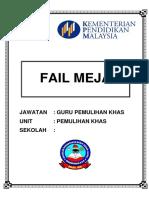 Fail Meja Cover & Divider