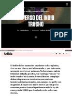 Ensayo Verso Del Indio Trucho 2
