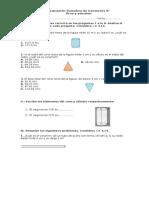 Prueba Volumen y Area 8 Basico