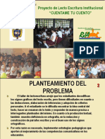 Presentacion Proyecto Lecto Escritura