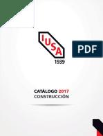 Iusa Catalogo Construccion 2017
