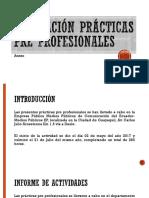 Evaluación Prácticas Pre Profesionales