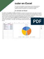 Gráfico Circular en Excel