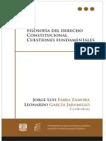 Filosofia Del Derecho Constitucional