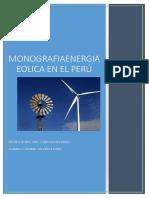 Monografia de Energia Eolica