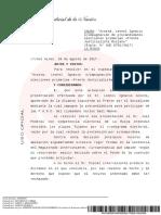 La Cámara Electoral rechazó las impugnaciones a la candidatura de Carlos Menem
