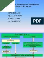 NR10 - Condições para Autorização de Trabalhadores