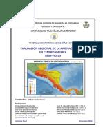 Evaluacion Regional de La Amenaza Sísmica en Centroamerica