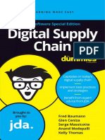 Digital Supply Chain for Dummies JDA Software