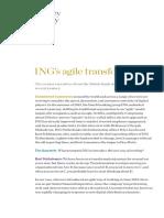 INGs Agile Transformation