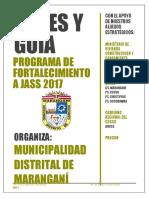 Guia Para El Cumplimiento Del Programa Fortalecimiento Jass 2017