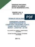 Diseño Vial II -Informe