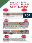 NC School Bus Stop Law INCDOT