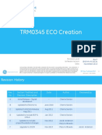 TRM0345 ECO Creation