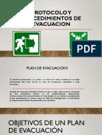 Procedimientos y Protocolo de Evacuacion