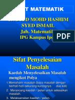 Copy of Sifat & Nilai Matematik