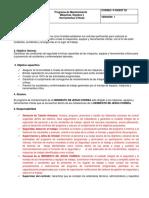 P-SGSST 53 Programa de Mantenimientos Preventivo y Correctivo