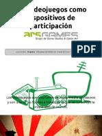 Luca Carrubba – Los videojuegos como dispositivos de participación ciudadana