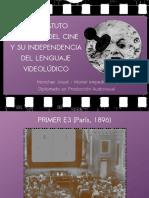 Jusué Monchán - Del Estatuto Artístico Del Cine Y Su Independencia Del Lenguaje Videoludico