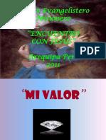 MI VALOR Y PRINCESA DE DIOS.ppt