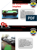 Maqueta Maquinas Simples