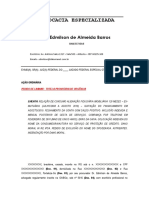 Ação de Indenização - Encerramento de Conta Pelo Banco CEF