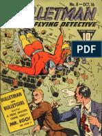Bulletman Comics (Fawcett Comics) Issue #8